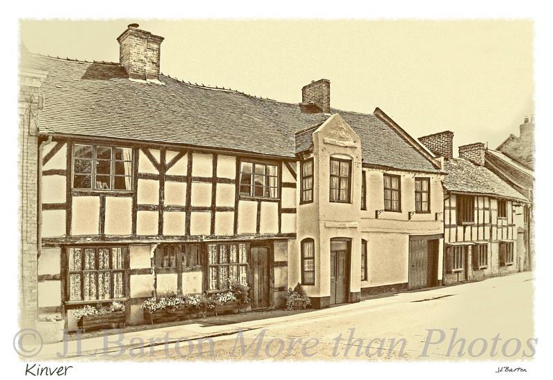 Kinver Half timbered houses