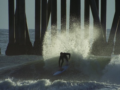 12/26/19 * DAILY SURFING PHOTOS * H.B. PIER * AFTERNOON SESSION
