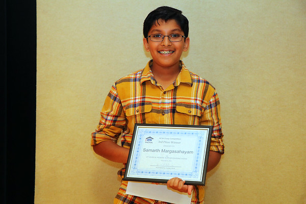 2019 Essay Competition Winner, 3rd Prize