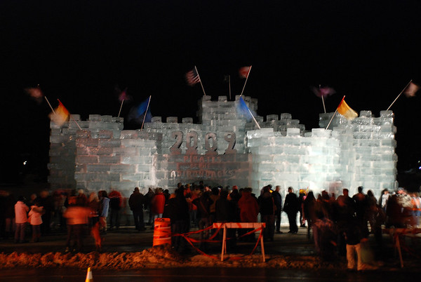 Winter Carnival 2009 | Lighting the Ice Palace