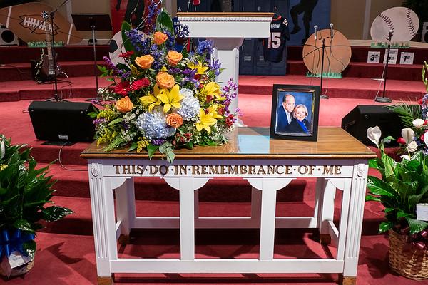 Carl McGraw Memorial Service