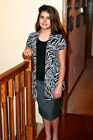 Anna 6th Grade - Picture Day