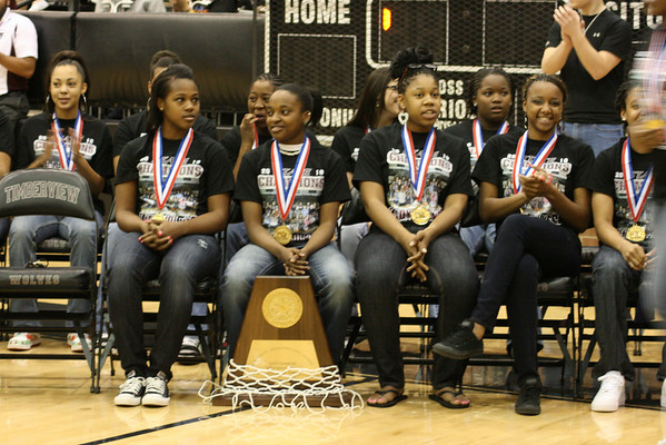 Timberview Lady Wolves Community Pep Rally