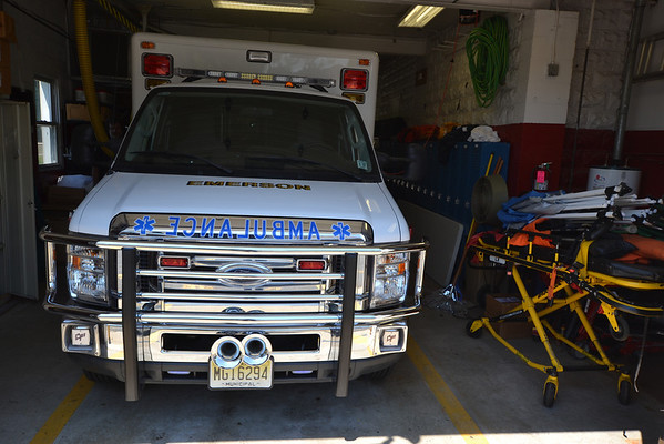 "Emerson Volunteer Ambulance Corps Dedicates  Building ""In Loving Memory of Eleanor Galasso"""