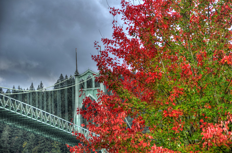 St. Johns bridge @ Portland