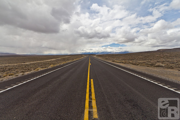 Highway 50. The Loneliest Road in America