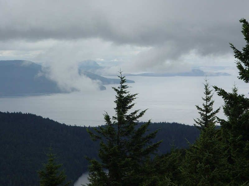 View from Mount Constitution - Orcas Island