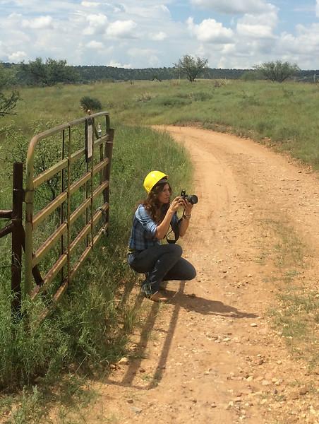 Kentucky Camp - Arizona Trail Gate Installation | 2014 Michele Bauer Photography