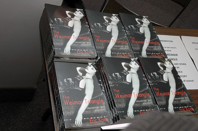 """Launch of  Eric Koch's """"The Weimar Triangle,"""" December 4, 2010"""
