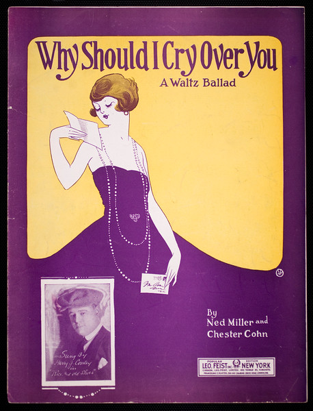Why should I cry over you: a waltz ballad
