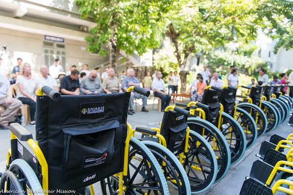 DaNang Wheelchair Distribution