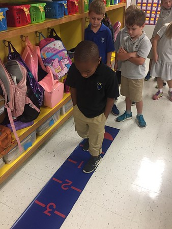 Walking the Number Line