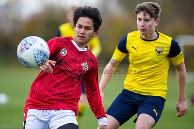 Garuda Select XI vs Oxford Utd U18s - 19th Nov 2019