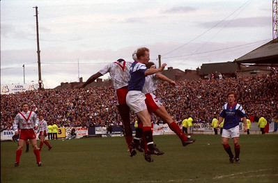 Airdrie v Rangers (0.1) 1 5 1993