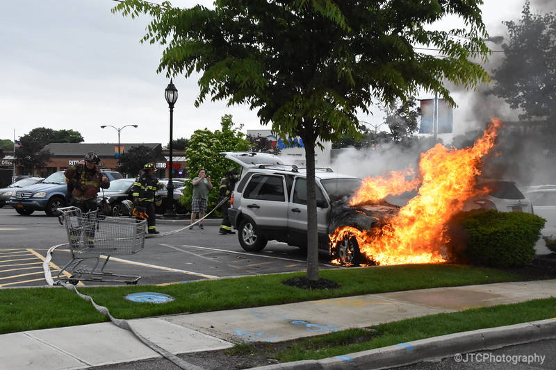 North Babylon Car Fire 05-31-2018