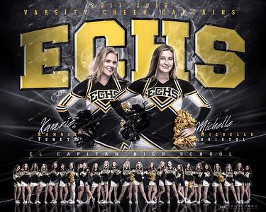 ECHS Varsity Cheer 2017-18