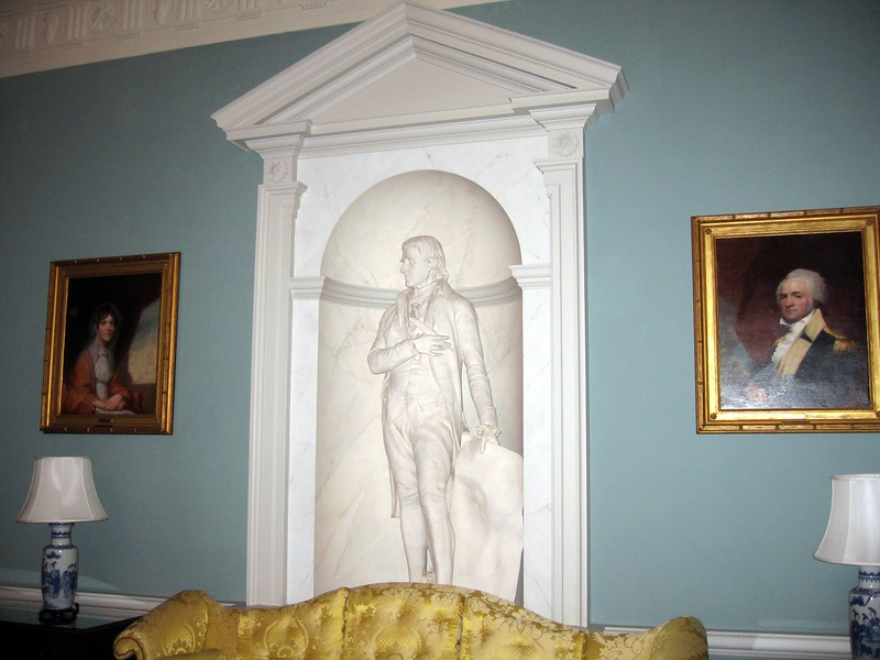 The Thomas Jefferson State Reception Room, one of the Diplomatic Reception Rooms