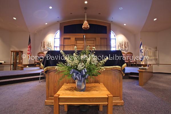 USA, Maryland, Frederick. Beth Sholom Synagogue & Community Center. (2009)