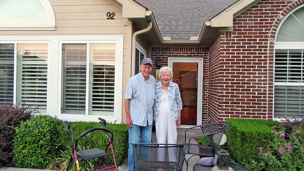 Visiting Bill and Mary T. Young in Plano, TX, July 2017