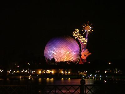 Orlando & Epcot, November 2004