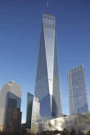 WTC and 911 Memorial - January 2015