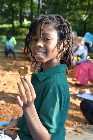 Fourth Graders Dig Up Some Ancient History