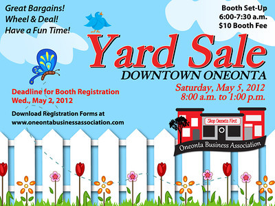 OBA Yard Sale 05-05-12