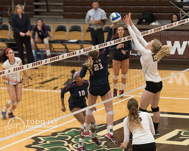2016 11 04 Brown University Volleyball