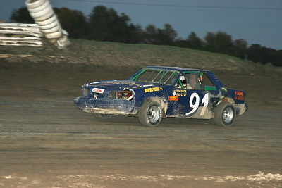Canadian Late Model Shootout, South Buxton Raceway, Merlin, ON, October 1, 2006