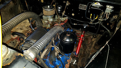 1947 Ford Super Deluxe Sedan.