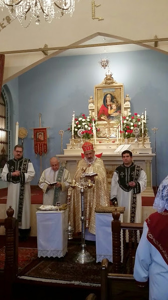 Blessing of the New Items for the Altar