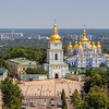St Michael's Monastery from Above, Kiev, Ukraine