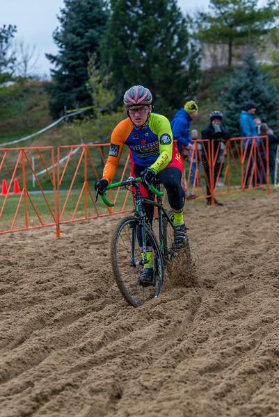 Junior 15-18 & Single Speed - 2014 Melas Park Basin Racin Cyclocross Race