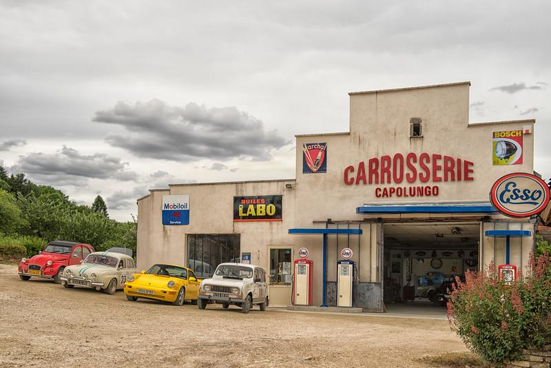 Body shop in Massangis