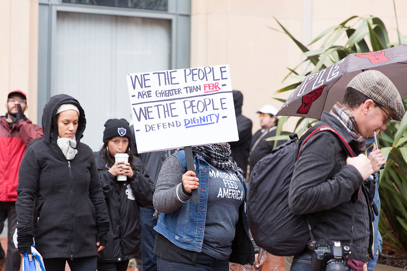 20170120 - T48A9739 -#J20 Oakland Ronald Dellums Federal Building Picket Strike  - photographed by Sam Breach 2017 - 1080 short edge.jpg