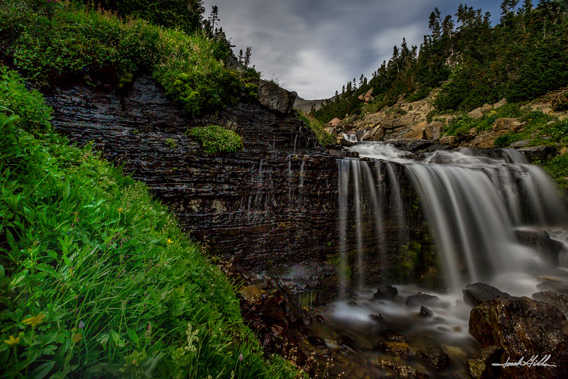 Idyliic Waterfall