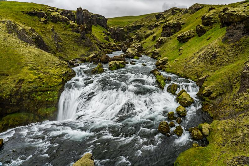 Upper Skagafoss Falls 2