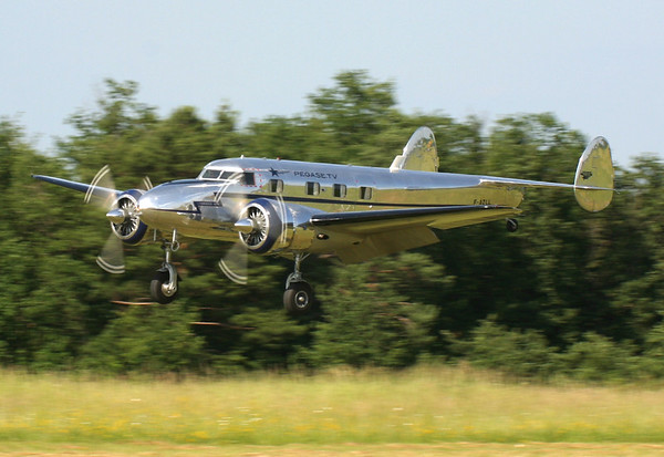 F-AZLL - Lockheed 12A Electra Junior