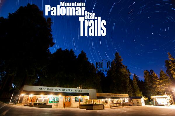 Palomar Mountain Star Trails