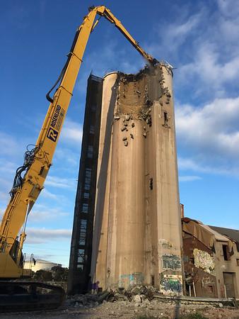 Newport Mills Victoria Demolition