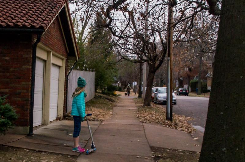 Walking in U City - Jan 2015