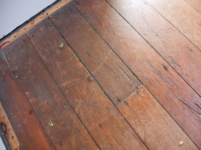 lounge room floor boards