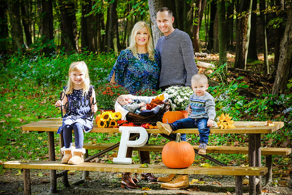 Perrico Fall Family Portrait Session