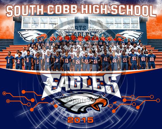 2015 South Cobb Eagles - Football