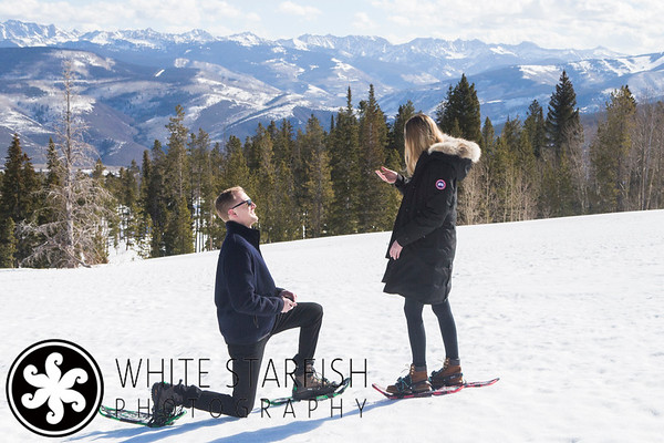 Beaver Creek Wedding Proposal - Michael and Lindsey