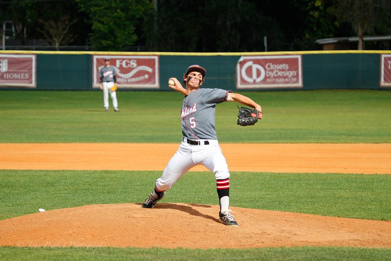 LHPS Var. Baseball vs Ocoee 2014