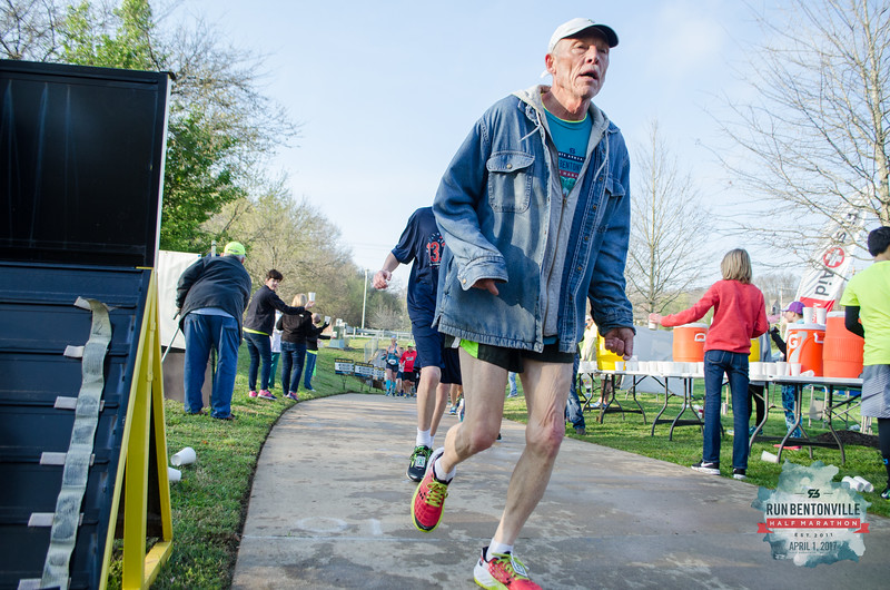 Thousands of runners and volunteers gathered on April Fools Day for the Bentonville Half Marathon, enjoying the beautiful weather and conquering the epic Crystal Bridges Hill.
