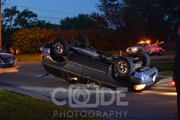 Vehicle Roll Over (5/30/14)
