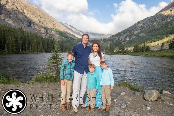 Breckenridge Family Photos - Blue Lakes - Dotson