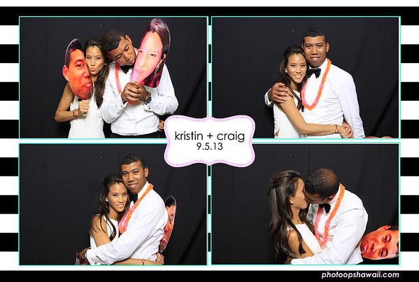 Kristin + Craig (Fusion Portrait Booth)